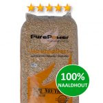 Pure power houtkorrel pellets